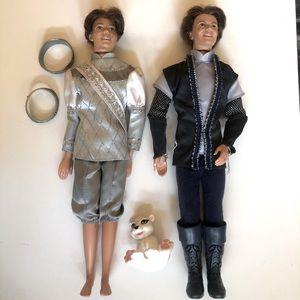 2 X Barbie Princes